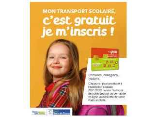 Transport scolaire pass mobilité